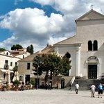 The Piazza Vescovado in Ravello