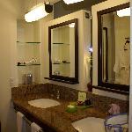 La salle de bain dans notre chambre