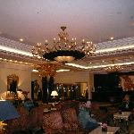 Lobby of Ritz Carlton