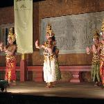 Cambodian dance performance