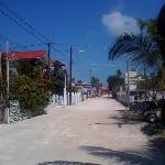 Main street Caye Caulker