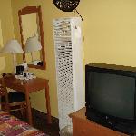 Desk,funny air conditioner