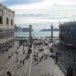 view from St Mark's basilica