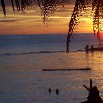 Tramonto dal nostro bungalow al Sai Thong Resort di Koh Tao - Sunset from our bungalow