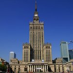 The Palace of Culture and Science Pałac Kultury i Nauki - is the tallest building in Poland
