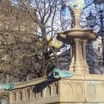 Closeup of the Jubilee Fountain