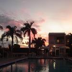 Sunset at the Satellite Treasure Island