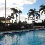 Gardens and Pool at Satellite Treasure Island