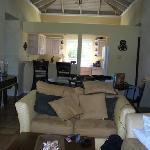 Living Room in the 2 bed room villa!