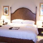 Bed in premier room