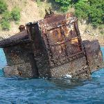 Sunken vessel enroute to Tortuga Island 8/05