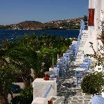 Taverna in Parika Town at Paros - Greece