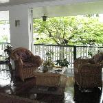 Upstairs sitting area