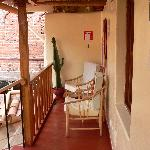 Our own little chill space where we enjoyed a complementary coca tea