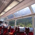 Panoramic car Glacier Express