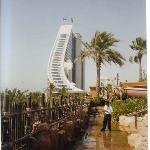 The hotel from the waterpark
