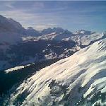 Looking down toward Grindelwald