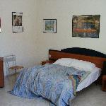 The bedroom - huge