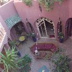 Der Hof des Riad