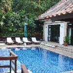 Seaview 2 bedroom villa in the day