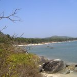 Palolem Beach - from the end