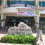 Entrance, Wild Orchid Resort, October 2006.
