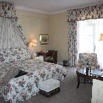 A superior room at the hotel