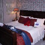 King Size bed, room 10