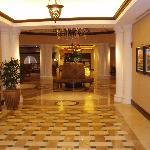 Hallway in lobby