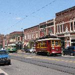 Main Street Trolley Foto
