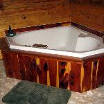 jacuzzi for 2 cabin 6