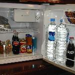 well stocked fridge...