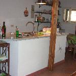 Kitchen at Chez Jasmine