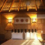 My room - I had the first palapa - second floor room