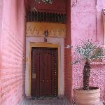 The doors that hide the wonderful Riads behind