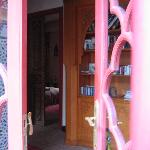 From the library into the Pink room (Al Wardi)