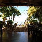 restraunt view toward beach