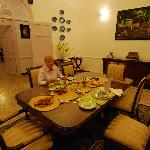 Dining room at Wild Mahseer
