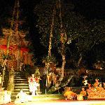 Dance Performance at Pura Saraswati