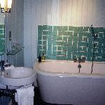 Super bathroom with vast bath
