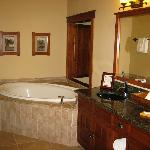 sink and soaking tub