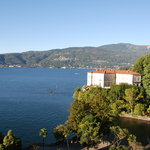 Looking from the room toward Stresa...