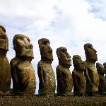 Moais at Ahu Tongariki