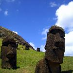 Moais at Rano Raraku