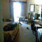 Vista general de la habitación