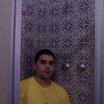 La ducha de la habitación