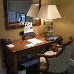 the writing desk.