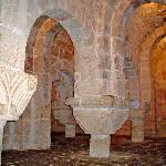 vista de la cripta