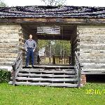 The Crowell-Whitaker Cabin, circa 1840