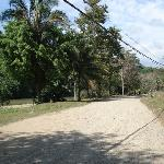 Road from resort into Dominical